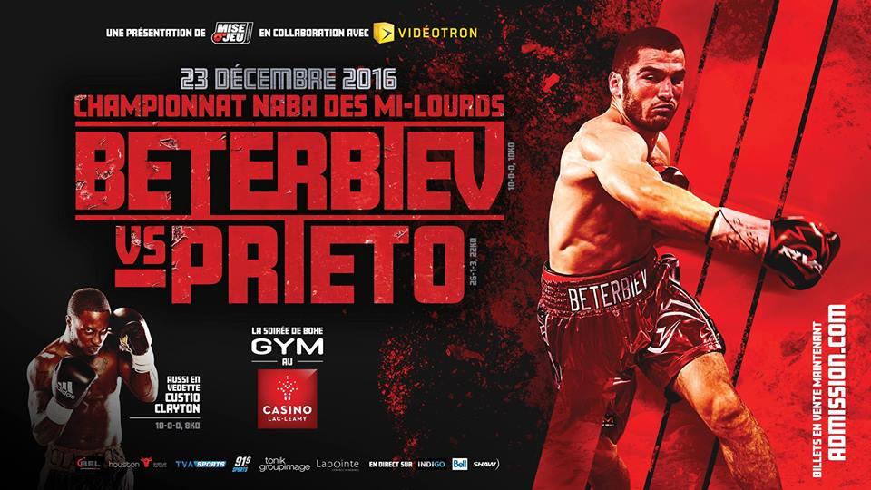 Beterbiev-Prieto : la carte estcomplète