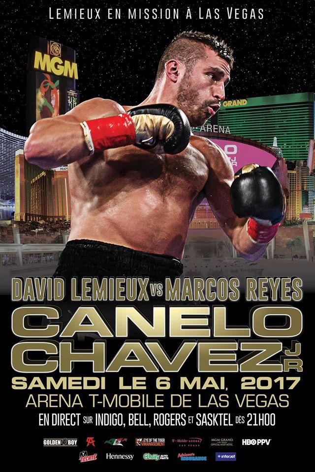 Marcos Reyes : qui est le prochain adversaire de David Lemieux?