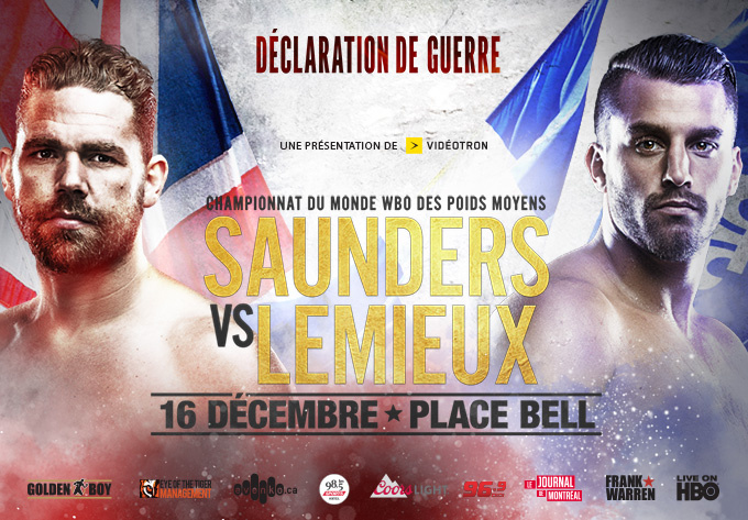Profil de Billy Joe Saunders : prochain rival de David Lemieux