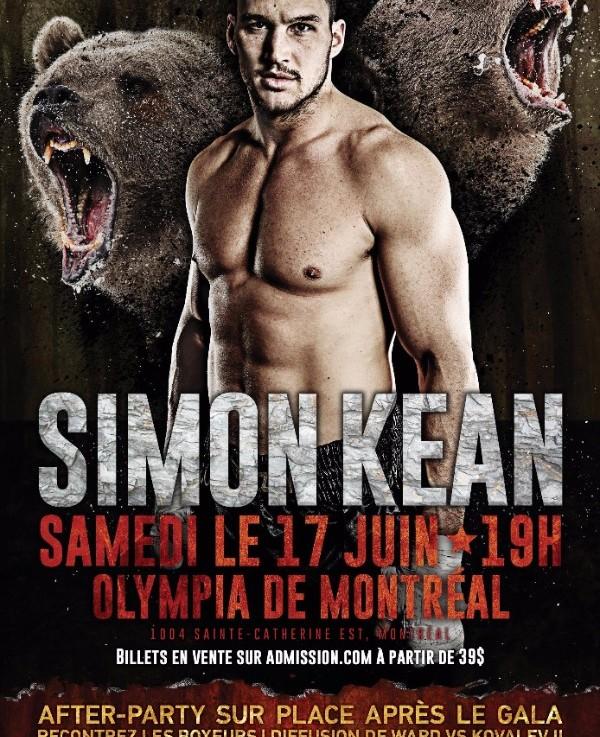 Simon Kean en finale àl'Olympia