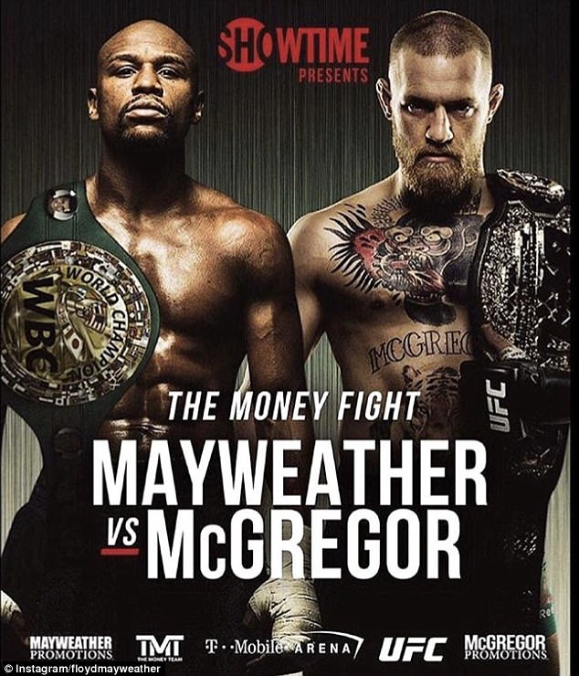 Mayweather-McGregor : davantage un spectacle qu'un combat deboxe!